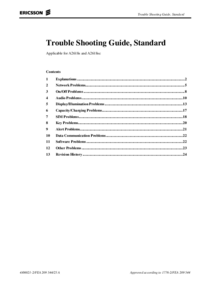 Manual de serviço Ericsson A2618sc