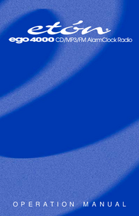 Manual del usuario Eton ego 4000