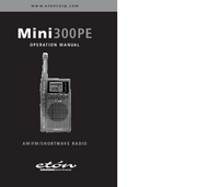 User Manual Eton Mini 300 PE