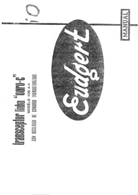 Service and User Manual Eudgert 400 A4