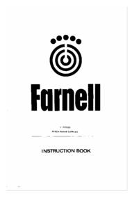 Service et Manuel de l'utilisateur Farnell LT 30