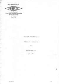 Service- und Bedienungsanleitung Ferisol L 310