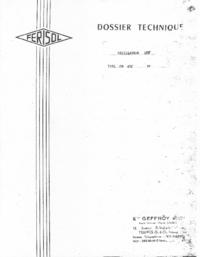 Serviço e Manual do Usuário Ferisol OS 301