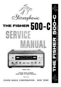 manuel de réparation Fisher 500-C