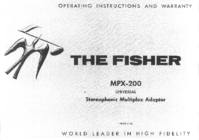 User Manual Fisher MPX-200