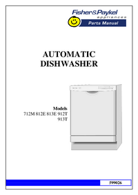 Manual de servicio FisherPaykel 712M
