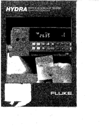 User Manual Fluke Hydra