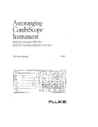 Manual del usuario Fluke PM3394A