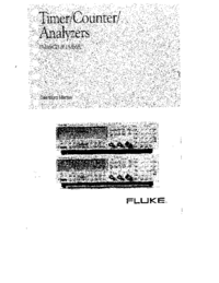Manual del usuario Fluke PM6681