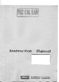 Instrukcja obsługi, Cirquit diagramu Fluke 407