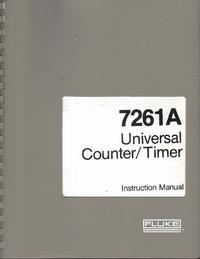 Instrukcja obsługi Fluke 7261A
