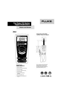 Datenblatt Fluke 170 Series