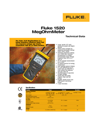 Fluke-6540-Manual-Page-1-Picture
