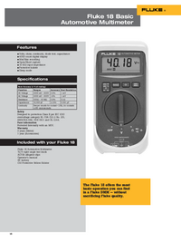 Fluke-6541-Manual-Page-1-Picture
