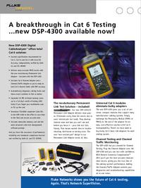 Scheda tecnica Fluke DSP-4300