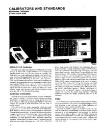Datasheet Fluke 5101A