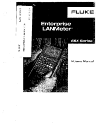 Manual del usuario Fluke 682
