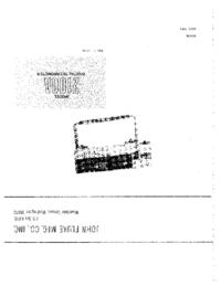 Servizio e manuale utente Fluke 2100A