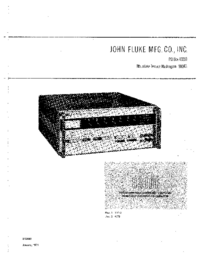 Fluke-7707-Manual-Page-1-Picture
