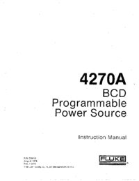 Fluke-7711-Manual-Page-1-Picture