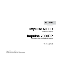 Manuale d'uso FlukeBio Impulse 7000DP