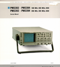 Manual de servicio FlukePhilips PM3394