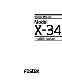 Fostex-4759-Manual-Page-1-Picture