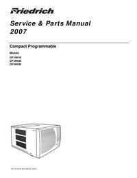 manuel de réparation Friedrich CP24N30