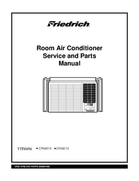 Service Manual Friedrich CP08E10