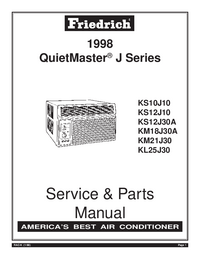 Service Manual Friedrich KM18J30A