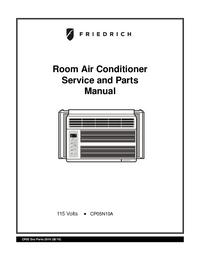 Manuale di servizio Friedrich CP05N10A