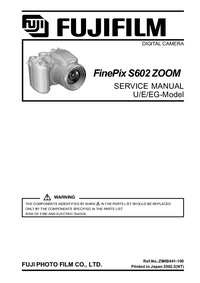 Serviceanleitung FujiFilm FinePix S602 ZOOM