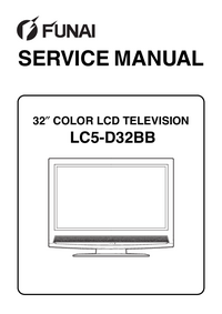 Manual de servicio Funai LC5-D32BB