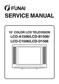 manuel de réparation Funai LCD-C1506