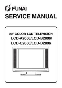 Servicehandboek Funai LCD-B2006