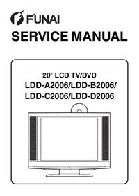 Руководство по техническому обслуживанию Funai LDD-C2006