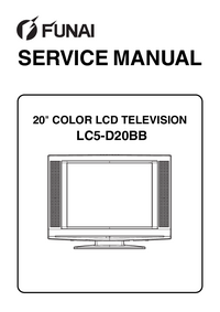 Service Manual Funai LC5-D20BB