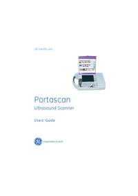 Manual del usuario GEHealthcare Portascan