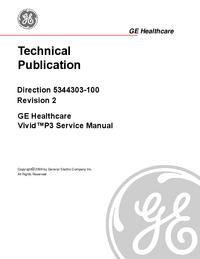 Instrukcja serwisowa GEHealthcare Vivid™ P3