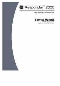 manuel de réparation GEMedical Responder 2000