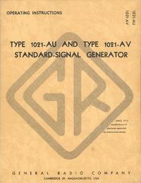 Gebruikershandleiding GR 1021-AV