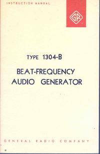 Servicio y Manual del usuario GR 1304-B