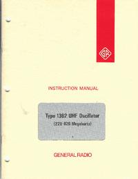 Service et Manuel de l'utilisateur GR 1362