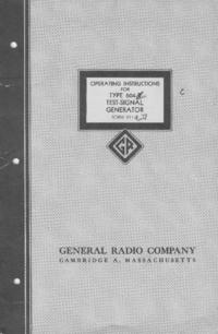 User Manual GR 604-B