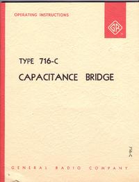 Service- und Bedienungsanleitung GR 716-C