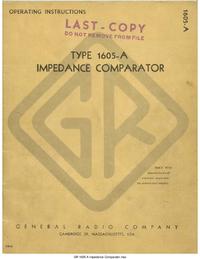 Serwis i User Manual GR 1605-A