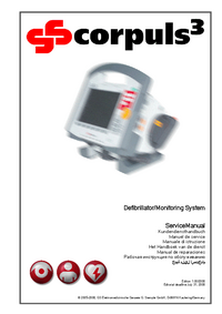 Manual de serviço GSElektromedizinischeG GS corplus 3