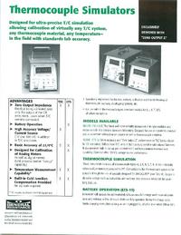 Datenblatt GeneralResistanceInstruments TSC-47UR