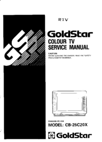 Service Manual Goldstar CB-25C20X