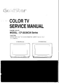 Manuale di servizio Goldstar CF-29C26